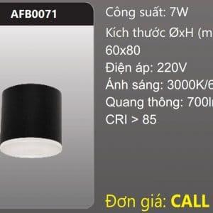 Den Led Tron Tan Quang Gan Noi Trang Triafb0071
