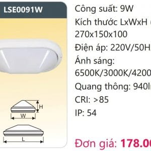 Den Op Tran Led Doi Maulse0091w