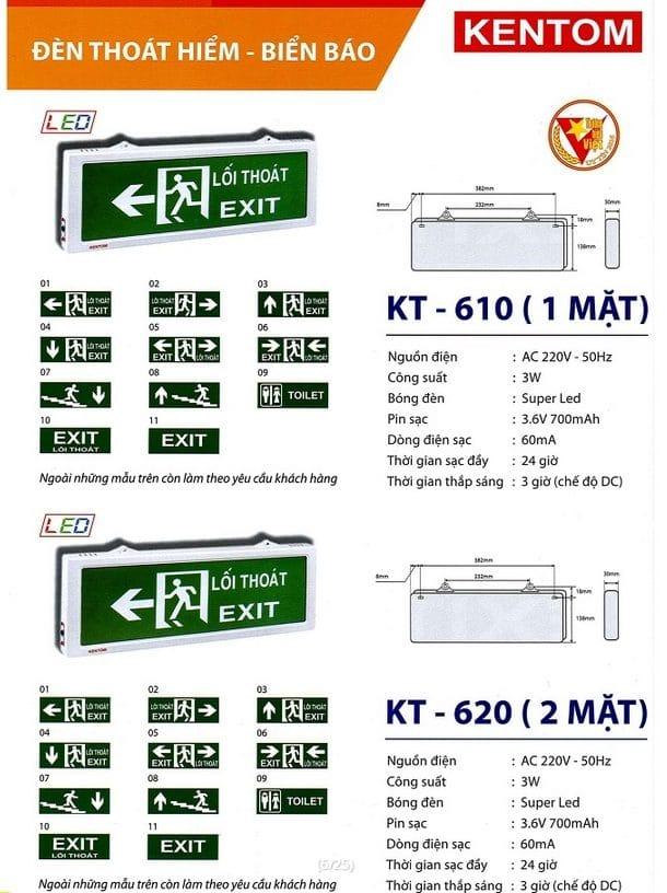 Bang Gia Den Kt 610 1 Mat