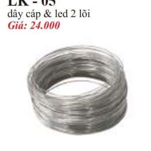 Day Cap Led 2 Loi Lk 05