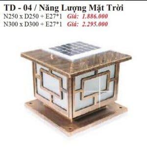 Tru Dong Ngoai Troi Td 04 Nang Luong Mat Troi