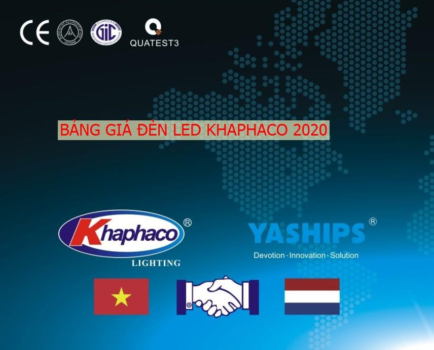 Bang Gia, Catalogue Den Led Khaphaco 2020