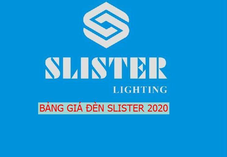 Bang Gia, Catalogue Den trang tri Slister 2020