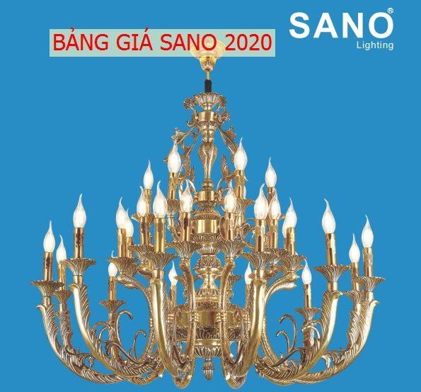 Bang Gia, Catalogue Den Trang Tri Sano 2020