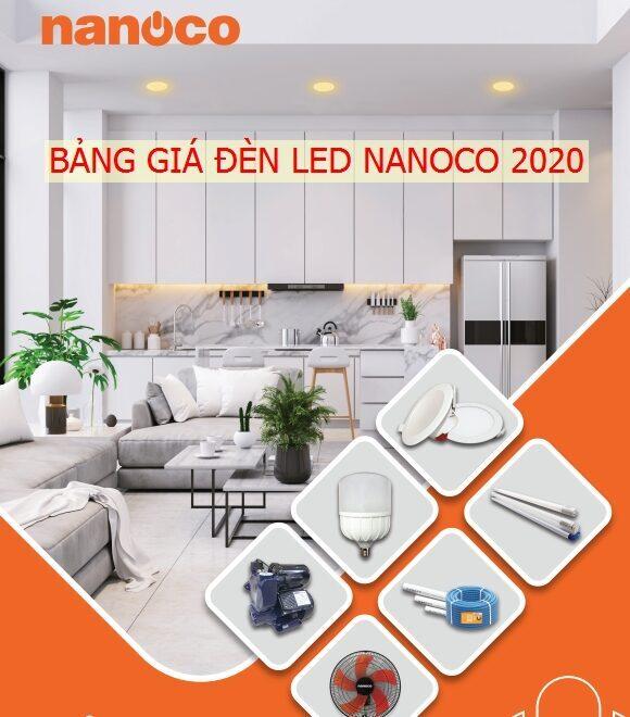 Catalogue Bang Gia Den Led Nanoco 3