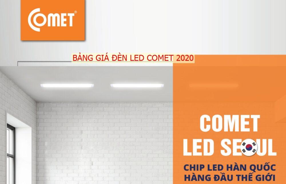 Bang Gia Catalogue Den Led Comet Moi Nhat