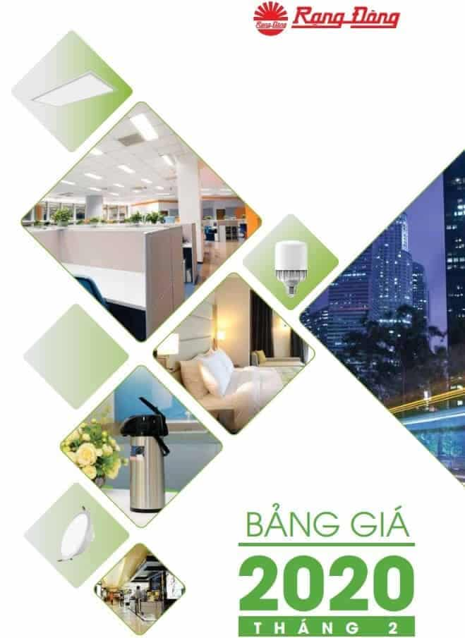 Catalogue Bang Gia Den Led Rang Dong 2