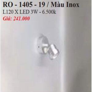 Den Chieu Diem Gan Tuong Ro 1405 19 Mau Inox