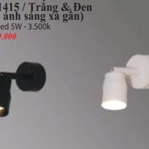 Den Chieu Diem Gan Tuong Ro 1415 Trang Den