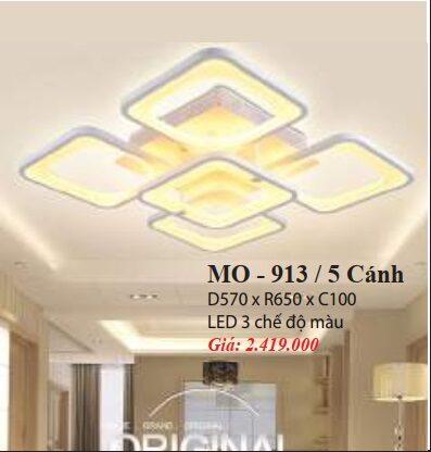 Den Mam Op Tran Hien Dai Mo 913 5 Canh