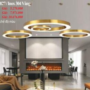 Den Tha Hien Dai Th 827 Inox 304 Vang