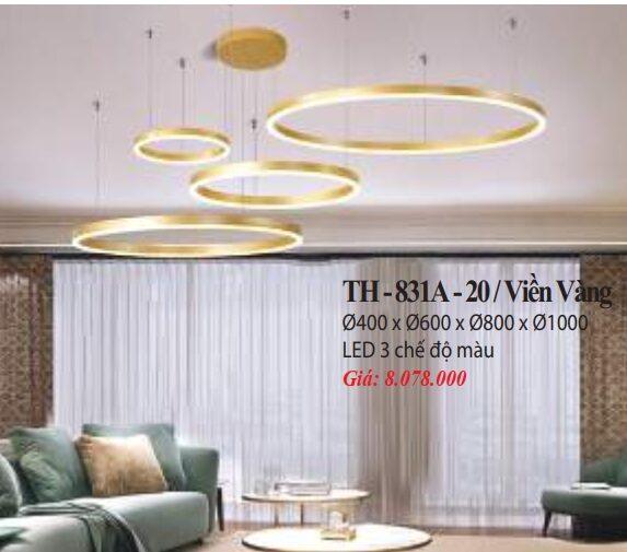 Den Tha Hien Dai Th 831a 20 Vien Vang
