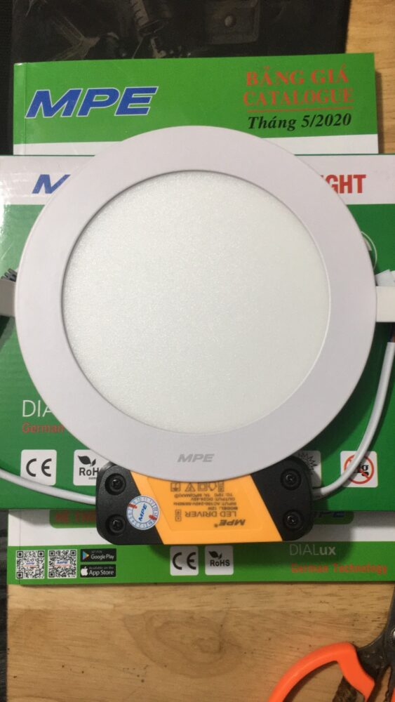 Den Downlight Am Tranrpl 12t Led 12w 1