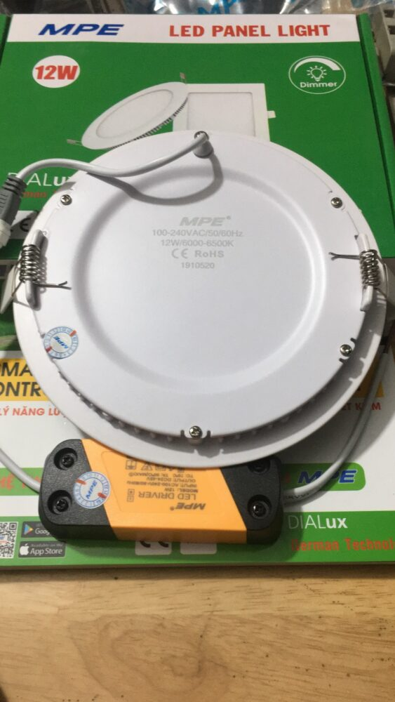 Den Downlight Am Tranrpl 12t Led 12w 5
