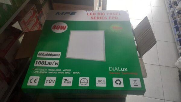 Dong Goi Mat Sau Den Led Panel 600x600 Mpe Fpd 6060 T V