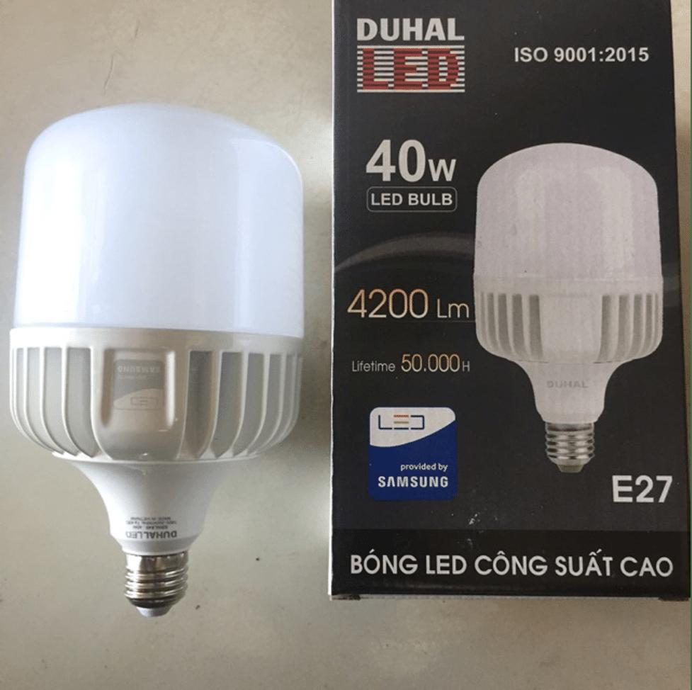 Bóng đèn Led Bulb Duhal 40w