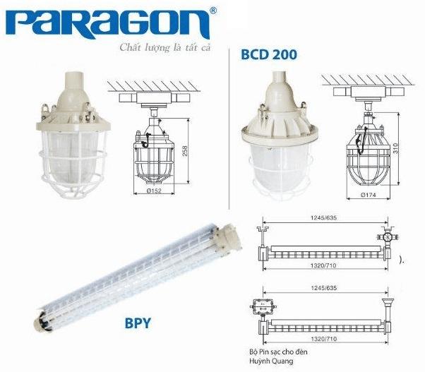 đèn chống cháy nổ Paragon