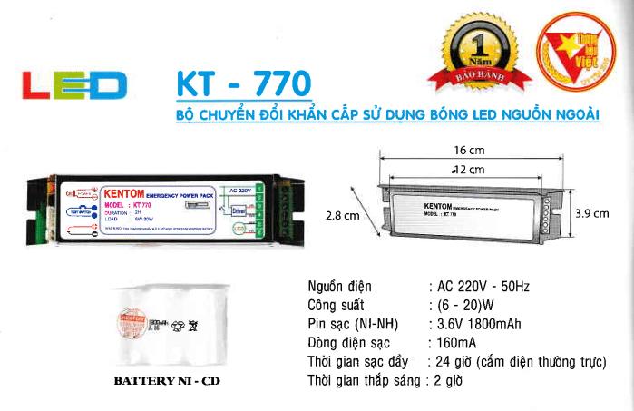 Den Khan Cap Kentom Kt 770