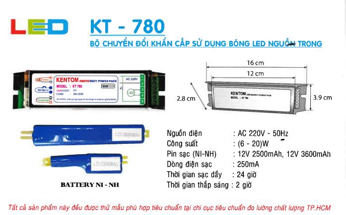 Den Khan Cap Kentom Kt 780
